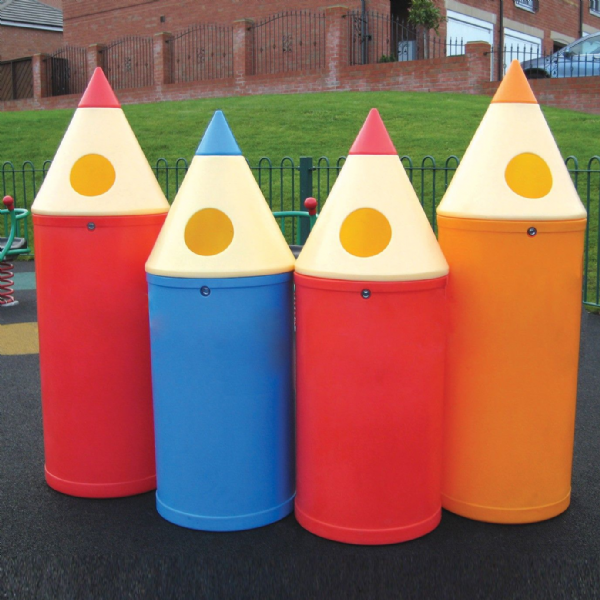 Individual Pencil Bins (No lettering)